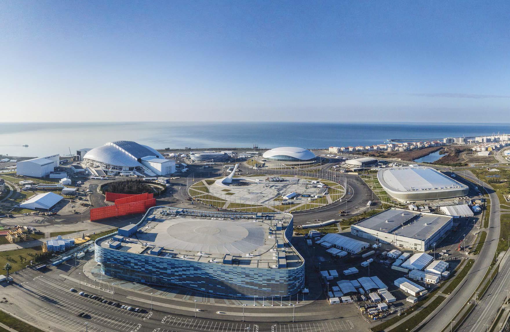 большая фото олимпийского парка в сочи сейчас его уже